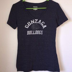 🌴4/20 Jan sport Gonzaga Bulldog V-neck🌴